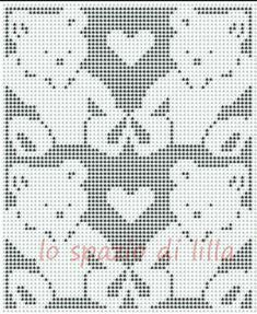 Filet Crochet Baby Blankets Pattern The Lilac Space Diagrams Of Teddy Bears To For Covers Infant Bear Charts Blanket Patterns Free