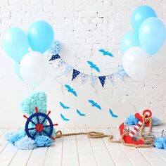 Vinyl Photo Backdrops, Digital Backdrops, Balloons Photography, Photography Backdrops, Bday Background, Kids Birthday Photography, Foto Montages, Cake Smash Backdrop, 1st Birthday Photoshoot