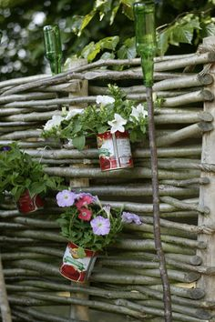 Wattle fence recycle