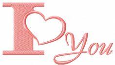 I love you free machine embroidery design I love you free machine embroidery design 5 #Iloveyou #free #machine #embroiderydesign #romantic #heart