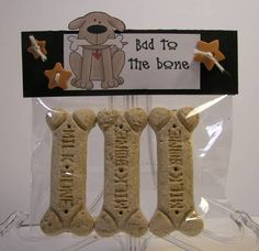 craft fair idea : make homemade dog biscuits