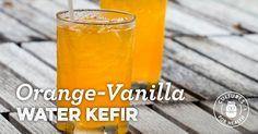 Orange-Vanilla Water Kefir