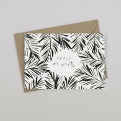 Image of Botanical Peace On Earth Card