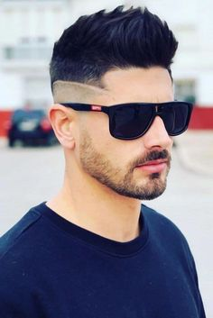 Faux Hawk Spiky Hair With Undercut Spiky hair has been on everyon Easy Short Haircuts, Cool Haircuts, Haircuts For Men, Short Hair Cuts, Trendy Mens Hairstyles, Bob Hairstyles With Bangs, Hairstyles Haircuts, Pompadour Hairstyle, Fringe Hairstyle