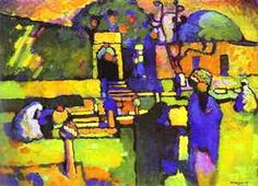 Arabs I Cemetery  Wassily Kandinsky