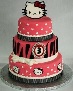 For the Hello Kitty fanatics! This your wedding cake!
