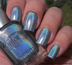 The Clockwise Nail Polish: Color Club Blue Heaven