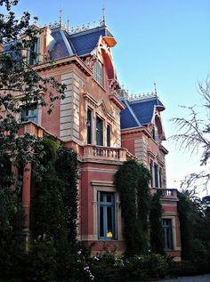 Casona que perteneció a la escritora Victoria Ocampo, en San Isidro (Buenos Aires)