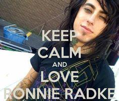 Always love Ronnie
