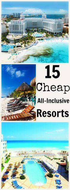 It's Summer forever at these 15 tropical escapes! Have you been getting any sun lately? We did the research: there are never gloomy days at these all-inclusive resorts but always crazy-cheap deals! What's your excuse for not having fun in the sun these days?