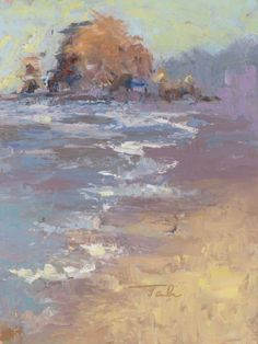 ARTFINDER: Tide Coming In, plein air palette kni... by Talya Johnson - Plein air (painting in open air or on-sight) painting can be incredibly challenging and frustrating. I remain convinced that of all the painting disciplines,...