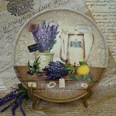 Decoupage plates with their hands-03