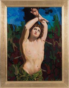 Giancarlo Impiglia (1940-heden), 2015, Martyrdom of St. Sebastian after Guido Reni, sold on artnet