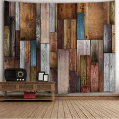 Vintage Wood Texture Decorative Wall Tapestry - X Inch Mobile Cheap Wall Tapestries, Wall Tapestry, Vintage Wall Art, Vintage Walls, Textures Murales, Picnic Tablecloth, Cheap Shower Curtains, Wood Texture, Wooden Walls