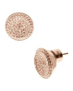 Rose Gold Studs I'm obsessed with these!