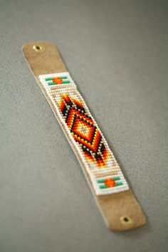 Traditional Native American Inspired Beaded by Bosphorushandmade