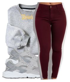"""6/13/16"" by lookatimani ❤ liked on Polyvore featuring NIKE"