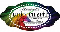 Unicorn SPiT Gel Stain and Glaze in One™ by Shimmershell's Eclectic Inc. is the only vibrantly colored wood stain on the market today