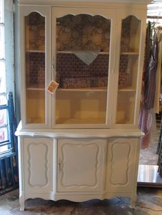 Vintage Finds Painted Hutch