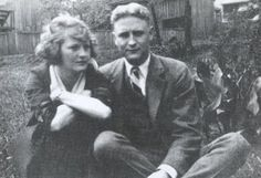 Zelda and F. Scott in Alabama, young and in love