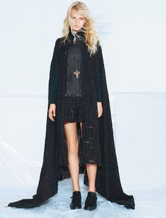 DAMIR DOMA Women's Autumn Winter 2012-13 cape featured in Madame Figaro