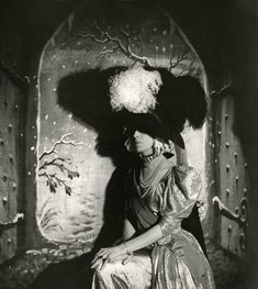 """Cecil Beaton. 'The Countess of Pembroke acting in Beaton's musical """"Heil Cinderella""""' 1939"""