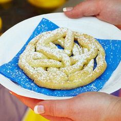 Baked Funnel Cakes