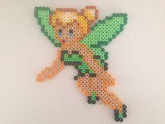 Tinker Bell hama perler beads by MartaB