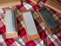 My father has had an extensive cooking knife collection for a long time, but for some reason he never purchased any sharpening stones. I thought some...
