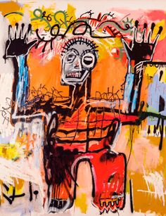 Jean-Michel Basquiat (1960-1988), Untitled, 1981. Acrylic, oilstick and spray paint on canvas, 78 x 72in. (199.5 x 182.9cm.). Estimate in the region of $20 million. Photo: Christie's Images Ltd 2012.