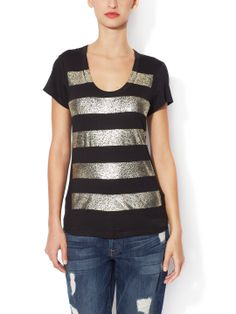 Easy Stripe Tee by 7 for All Mankind at Gilt