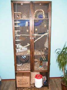 My Home Made Rat Cage Dumbo Small Animal