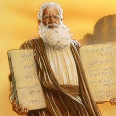 Moses gave up the riches of living with Pharaoh and chose instead to lead his people the Hebrews out of Egypt...