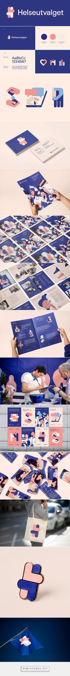 Brand New: New Logo and Identity for Helseutvalget by Bielke&Yang... - a grouped images picture - Pin Them All
