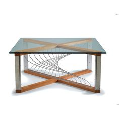Wood, Concrete Metal Coffee Table ($4,000) ❤ liked on Polyvore featuring home, furniture, tables, accent tables, wooden coffee tables, metal coffee table, metal occasional tables, glass top coffee table and wood metal coffee table
