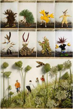 Onderwijs en zo voort ........: 2531. Collages maken : Foto's en dingen uit de…