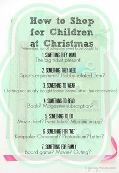 This is a good idea, especially if you're on a budget. But when your family has a particularly blessed year, and you have money to spend, why not spoil your kid a little? It's Christmas!