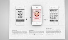 wireframe for iOS app-nice character