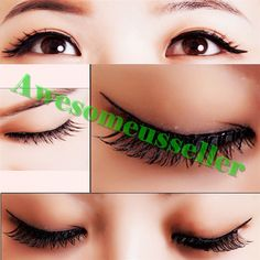 90Pairs Soft Natural Handmade Eye Lash Makeup Charming False Eyelashes #127C #MissDaisy
