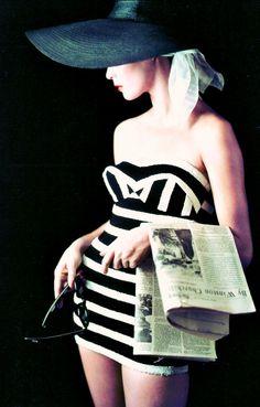 Jean Patchett, 1953 ~ Photographer: Milton H. Greene