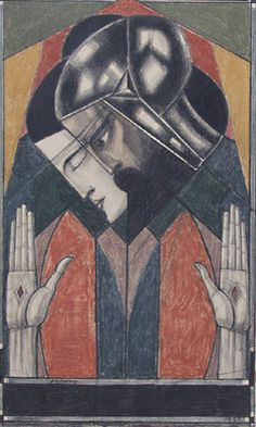 Jan Toorop, Stigmata - 1922