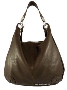 Wearit Bags - Damen Schultertasche aus Nappaleder NA4201