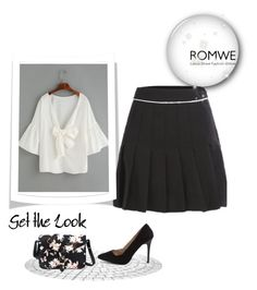 """""""ROMWE - 3/5"""" by thefashion007 ❤ liked on Polyvore"""
