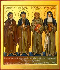 San Francesco-santa Chiara-santa Veronica-Santa Francesca