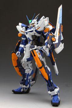GUNDAM GUY: MG 1/100 Gundam Astray Blue Frame L3 Type - Customized Build