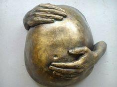 Regalo embarazada. http://moldearte.es/portfolioentry/regalo-original-embarazada/