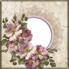 MEDIAFIRE DOWNLOAD Printable Frames, Decoupage Art, Print And Cut, Vintage Floral, Floral Wreath, Card Making, Scrapbooking, Paper Crafts, Wreaths