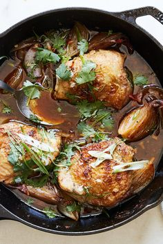 Harissa Chicken Thighs With Shallots Recipe - NYT Cooking