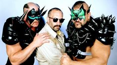 Check out devastating photos of the most monstrous tag teams to set foot in the squared circle. Awa Wrestling, Wrestling Superstars, Wrestling Divas, Team Photos, Wwe Photos, Wwe Pictures, Funny Pictures, The Road Warriors, Team Bonding