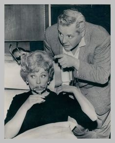 Lucille Ball and Desi Arnaz, I believe that this was after their divorce when Lucy was remarried. after he died she said that she had never stopped loving Desi and that he was the love of her life.